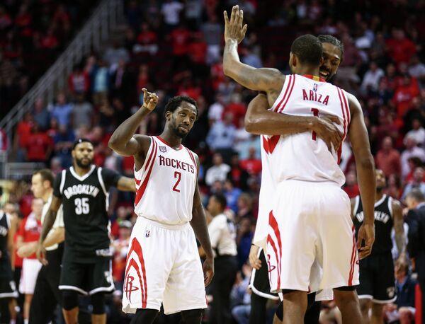 Баскетболисты Хьюстон Рокетс