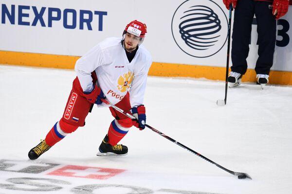Защитник сборной России Егор Яковлев