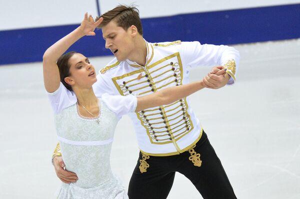 Наталья Забияко и Александр Энберт