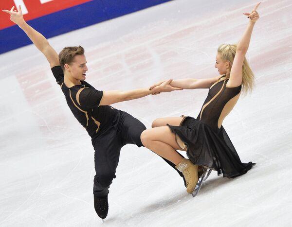 Анастасия Сафонова и Илья Зимин