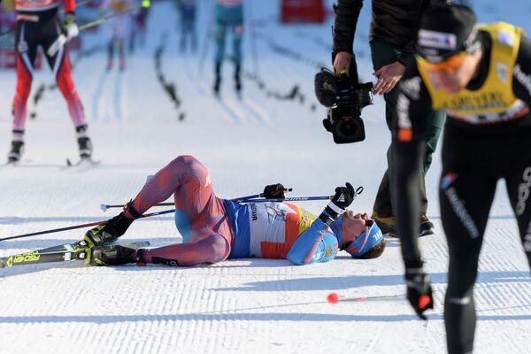 Российский лыжник Сергей Устюгов