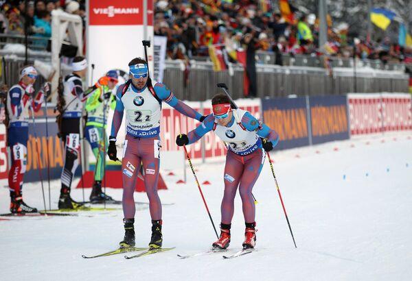 Антон Шипулин (слева) и Матвей Елисеев