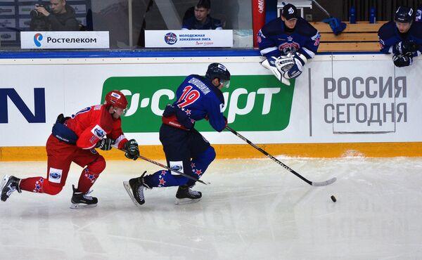 Матч Кубка Вызова МХЛ