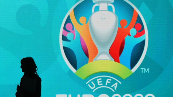 Логотип Евро-2020 по футболу