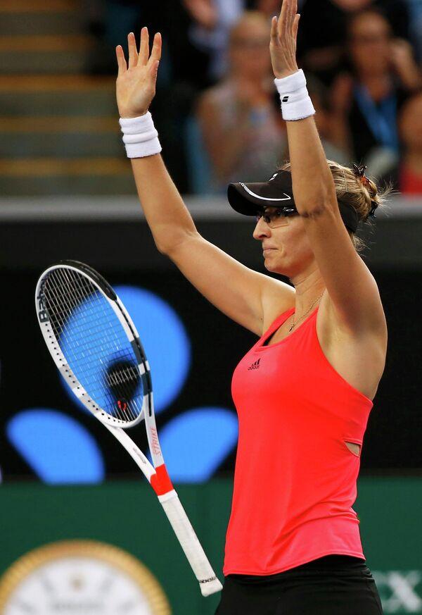 Хорватская теннисистка Мирьяна Лучич-Барони