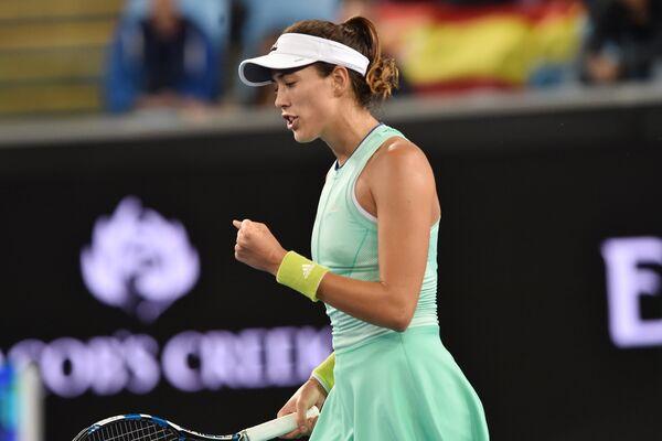 Испанская теннисистка Гарбинье Мугуруса