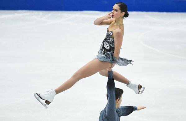 Наталья Забияко и Александр Энберт (Россия)