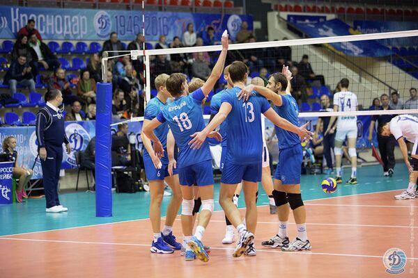 Волейболисты краснодарского Динамо