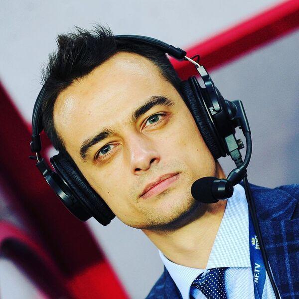 Телеведущий и футбольный комментатор Павел Занозин