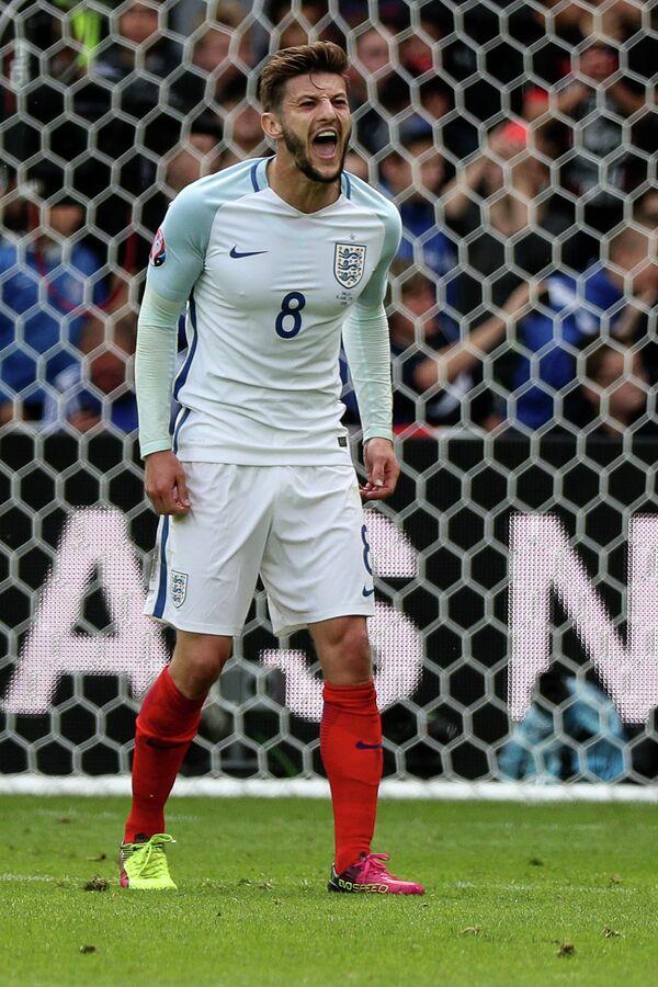 Полузащитник сборной Англии Адам Лаллана
