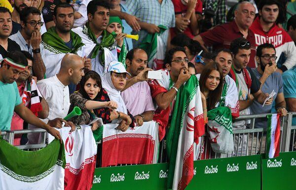 Болельщики сборной Ирана