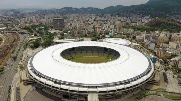 Состояние стадиона Маракана в Рио-де-Жанейро, 2017 год