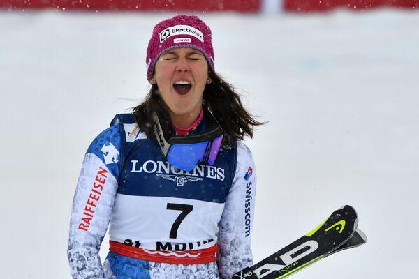Швейцарка Венди Хольденер
