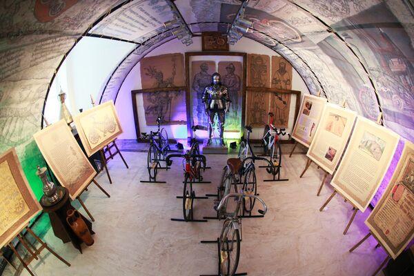 Экспозиция Государственного музея спорта