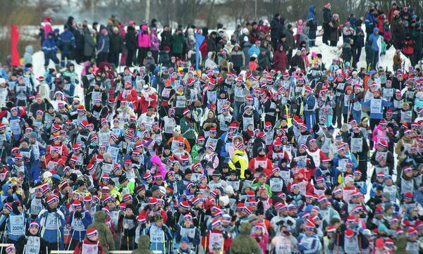 Всероссийская массовая лыжная гонка Лыжня России - 2017