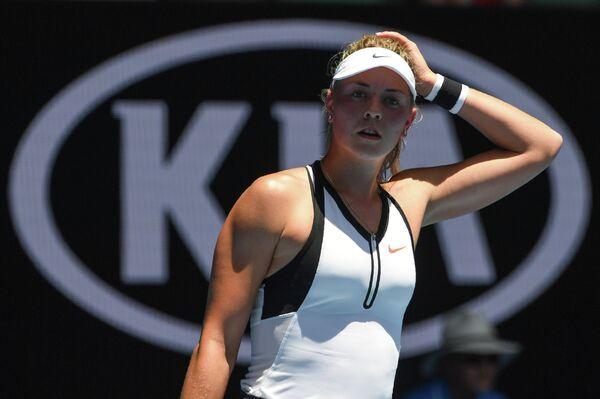 Немецкая теннисистка Карина Виттхёфт