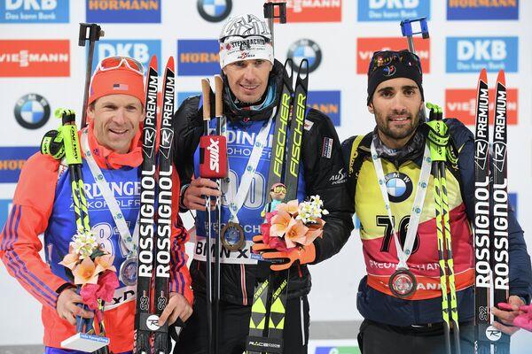 Лоуэлл Бэйли, Юлиан Эберхард, Мартен Фуркад (слева направо)