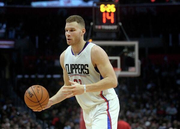 Форвард клуба НБА Лос-Анджелес Клипперс Блэйк Гриффин