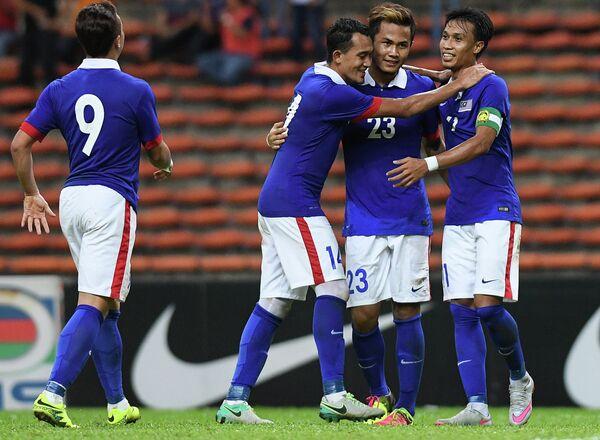 Футболисты сборной Малайзии