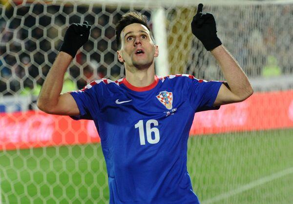 Нападающий сборной Хорватии Никола Калинич