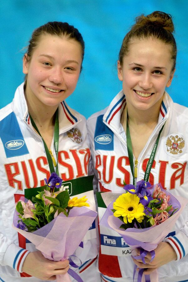 Юлия Тимошинина и Валерия Белова