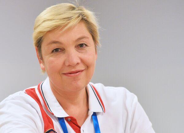 Главный тренер сборной России по прыжкам в воду Светлана Моисеева