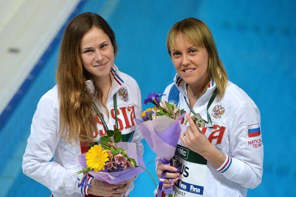 Кристина Ильиных и Надежда Бажина (Россия)
