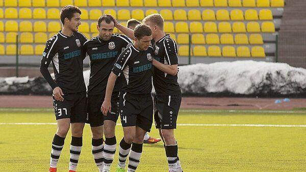 Футболисты Тюмени