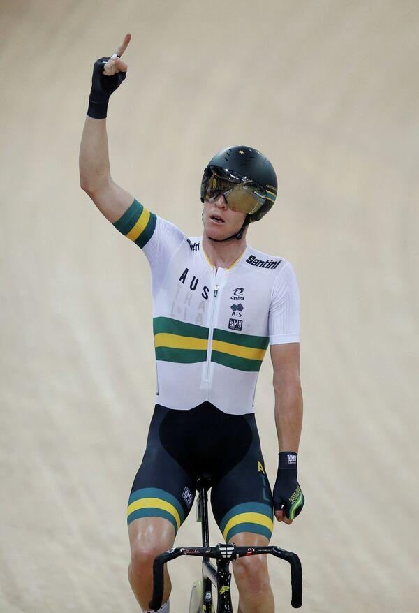 Австралийский велогонщик Кэмерон Мейер