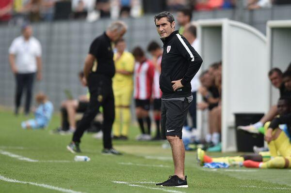 Главный тренер испанского футбольного клуба Атлетик Эрнесто Вальверде