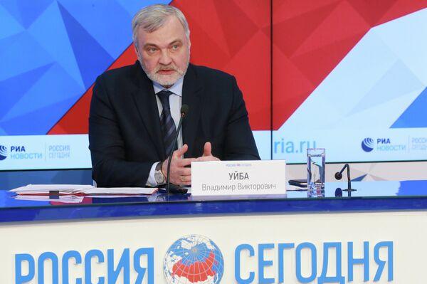 Руководитель Федерального медико-биологического агентства Владимир Уйба