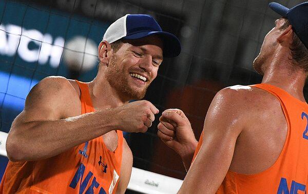 Александр Брауэр и Роберт Меувсен (слева направо)