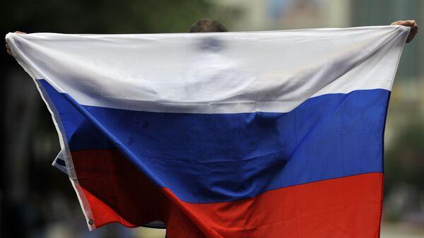 Российский легкоатлет