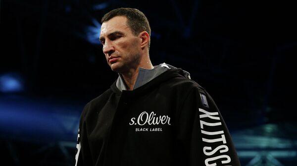 Украинский боксер Владимир Кличко