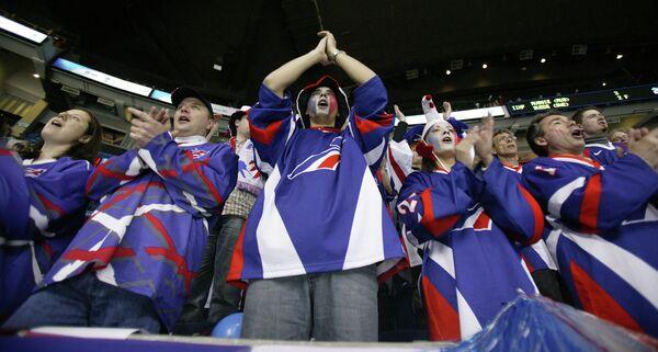 Болельщики сборной Франции по хоккею