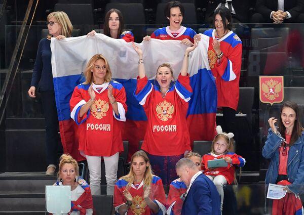Жены и подруги игроков сборной России по хоккею