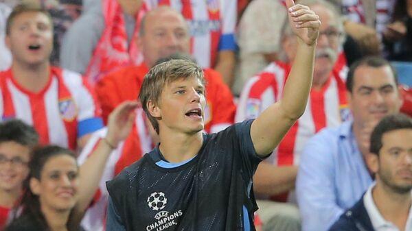 Нападающий Зенита Андрей Аршавин во время матча Лиги чемпионов в сентябре 2013 года