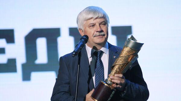 Вице-президент ХК Металлург Геннадий Величкин