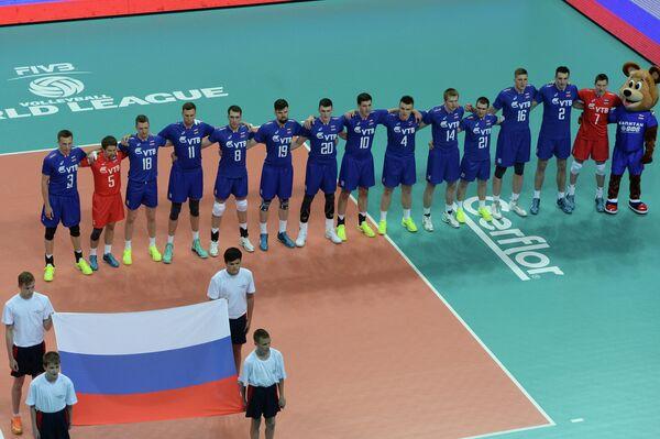 Волейболисты сборной России