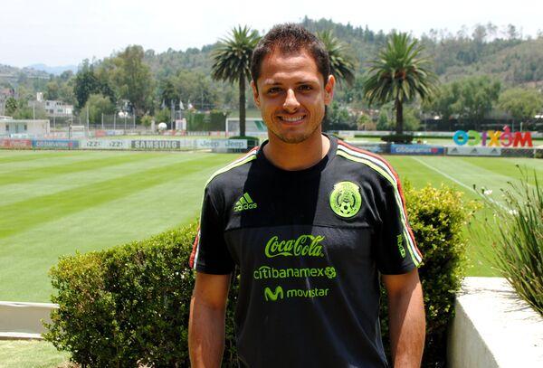 Нападающий сборной Мексики Чичарито