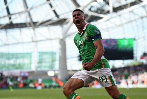 Нападающий сборной Ирландии по футболу Джонатан Уолтерс