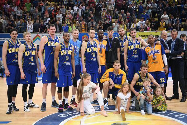 Баскетболисты Химок