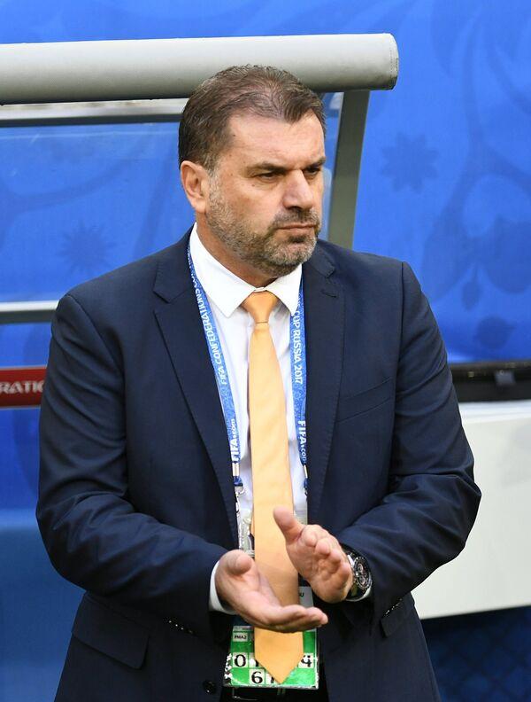 Главный тренер сборной Австралии по футболу Ангелос Постекоглу