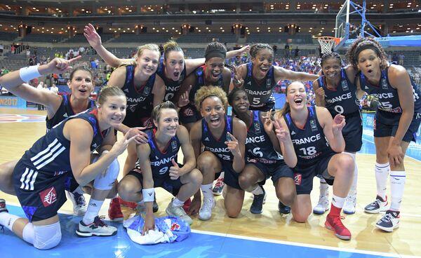 Баскетболистки сборной Франции