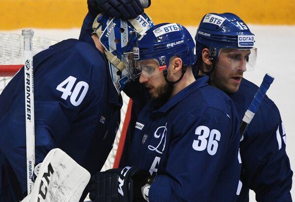 Александр Лазушин, Яков Рылов и Мартиньш Карсумс (слева направо)