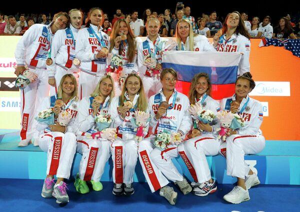Ватерполистки сборной России