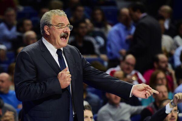 Итальянский баскетбольный тренер Ромео Саккетти