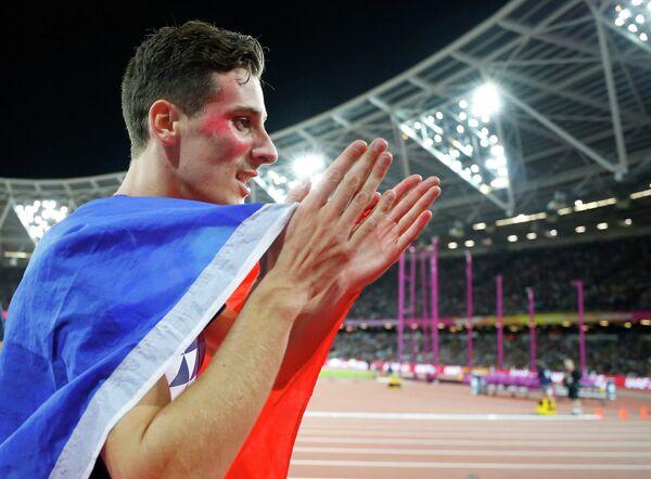 Французский легкоатлет Пьер-Амбруаз Босс