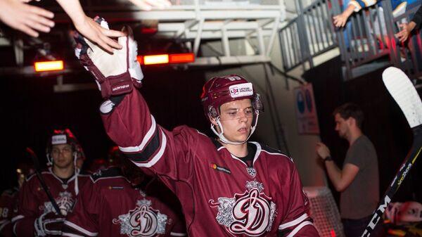 Игроки хоккейного клуба Динамо (Рига)