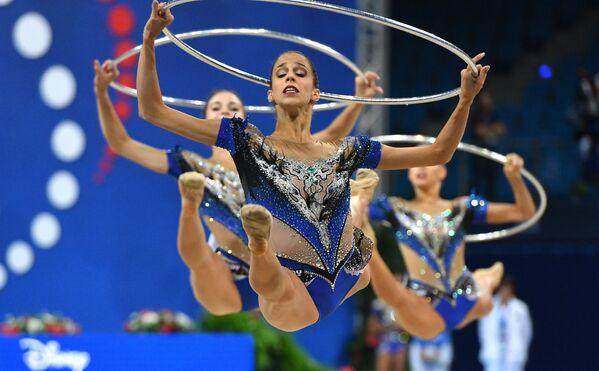 Спортсменки сборной Италии